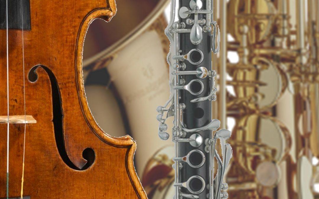 KLASSENABEND Violine, Klarinette & Saxophon / 01.03.2018, 18:30, Studio B