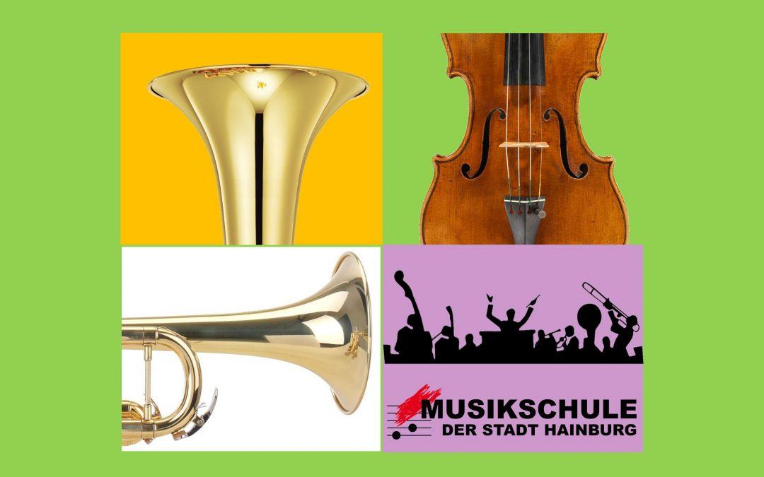 KLASSENABEND der Klassen E. Dworski (Trompete, Tenorhorn, Big Band) und Mag. D. H. Mayer (Violine), 07.03.2019, 18:30 Uhr, Studio B