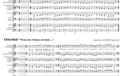 Noten + Musikfiles zum Junior Easter Special