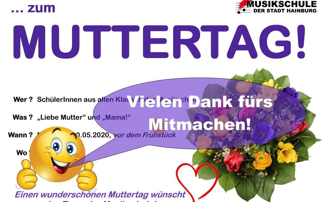 VIELEN DANK FÜRS MITMACHEN!